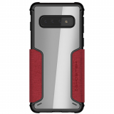 Samsung Galaxy S10 Ghostek Exec 3 Series Case - Red