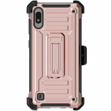 Samsung Galaxy A10 Ghostek Iron Armor 2 Series Case - Rose Gold