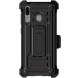 Samsung Galaxy A20/A30/A50 Ghostek Iron Armor 2 Series Case - Black