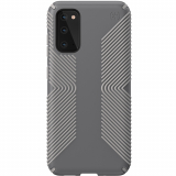 Samsung Galaxy S20 Speck Presidio Grip Series Case w/ Microban - Graphite Grey/Cathedral Grey