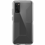 Samsung Galaxy S20 Speck Perfect Clear Grip Series Case w/ Microban - Clear/Clear