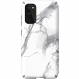 Samsung Galaxy S20 Speck Presidio Ink'd Series Case w/ Microban - Carraramarble Matte/Grey