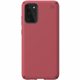 Samsung Galaxy S20+ Speck Presidio Pro Series Case w/ Microban - Soft Maroon/Samba Red