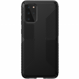 Samsung Galaxy S20+ Speck Presidio Grip Series Case w/ Microban - Black/Black