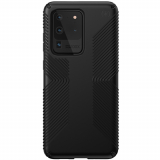 Samsung Galaxy S20 Ultra Speck Presidio Grip Series Case w/ Microban - Black/Black