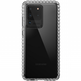 Samsung Galaxy S20 Ultra Speck New Impact Geo Series Case w/ Microban - Clear/Clear