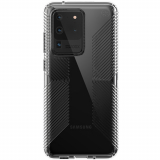 Samsung Galaxy S20 Ultra Speck Perfect Clear Grip Series Case w/ Microban - Clear/Clear
