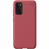 Samsung Galaxy S20 Speck Presidio Pro Series Case w/ Microban - Soft Maroon/Samba Red