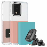 Samsung Galaxy S20 Ultra Nimbus 9 Ghost 2 Pro Series Case - Rose Gold/Turquoise Blue