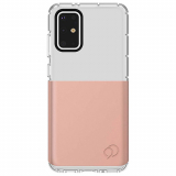 Samsung Galaxy S20+ Nimbus9 Ghost 2 Pro Series Case - Rose Gold/Turquoise Blue