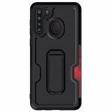 Samsung Galaxy A21 Ghostek Iron Armor 3 Case - Matte Black