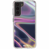 Samsung Galaxy S21 5G Case-Mate Soap Bubble Series Case with Micropel - Iridescent