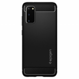 Samsung Galaxy S20 Spigen Rugged Armor Case - Black