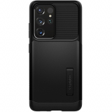 **NEW**Sasmung Galaxy S21 Ultra 5G Spigen Slim Armor Case - Black