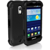 Samsung Galaxy S Aviator Ballistic SG Series Case - Black/Black