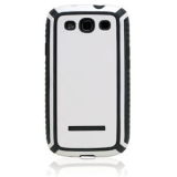 Samsung Galaxy S III Tactic Body Glove Case - White/Charcoal