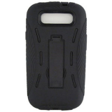 Samsung Galaxy S III DP Case - Black/Black