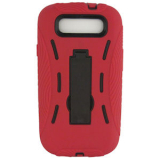 Samsung Galaxy S III DP Case - Red/Black