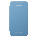 Samsung Galaxy Note II OEM Flip Cover - Blue