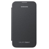 Samsung Galaxy Note II OEM Flip Cover - Gray