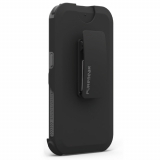 Samsung Galaxy S7 PureGear DualTek with Hip Clip Holster - Black