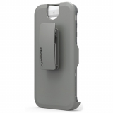 Samsung Galaxy S8+ PureGear DualTek with Hip Clip Holster - White/Grey
