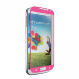 Samsung Galaxy S4 Nitro Glass Screen Protector - Pink