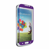 Samsung Galaxy S4 Nitro Glass Screen Protector - Purple