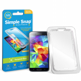 Samsung Galaxy S5 Simple Snap Screen Protector - Tempered Glass