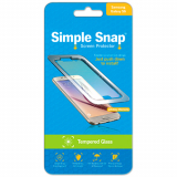 Samsung Galaxy S6 Simple Snap Screen Protector - Tempered Glass
