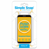 Samsung Galaxy S7 Simple Snap Screen Protector - Tempered Glass