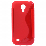 Samsung Galaxy S4 Mini TPU Shield - Red