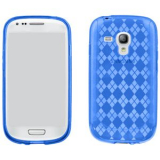 Samsung Galaxy S III Mini TPU Shield - Blue
