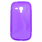 Samsung Galaxy S III Mini TPU Shield - Purple