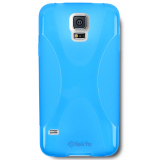 Samsung Galaxy S5 TekYa Flex TPU Shield - Blue