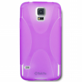 Samsung Galaxy S5 TekYa Flex Style TPU Shield - Purple