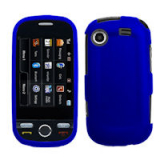 Samsung Messager Touch Snap On Shield - Blue
