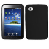 Samsung Galaxy Tab/i800 Silicone Shield - Black