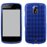 Samsung Nexus Prime/i515 TPU Shield - Blue