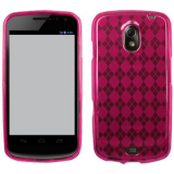 Samsung Nexus Prime/i515 TPU Shield - Hot Pink