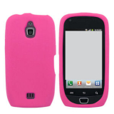 Samsung Exhibit 4G/T759 Silicone Shield - Fuschia