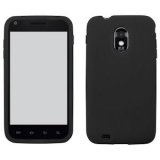 Samsung Galaxy S II/Epic 4G Touch Silicone Shield - Black