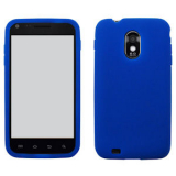Samsung Galaxy S II/Epic 4G Touch Silicone Shield - Blue