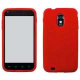 Samsung Galaxy S II/Epic 4G Touch Silicone Shield - Red
