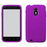 Samsung Galaxy S II/Epic 4G Touch Silicone Shield - Purple