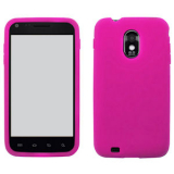 Samsung Galaxy S II/Epic 4G Touch Silicone Shield - Fuschia