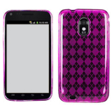 Samsung Galaxy S II/Epic Touch 4G TPU Shield - Purple
