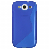Samsung Galaxy S III TPU Shield - Blue