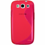 Samsung Galaxy S III TPU Shield - Hot Pink