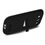 Samsung Galaxy S III Duo Shield - Black/Black